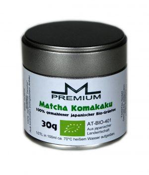 M-PREMIUM Matcha Komakaku BIO 30g Dose