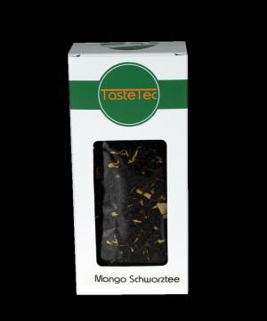 TasteTec Schwarzer Tee Mangotraum BIO, 100g Box