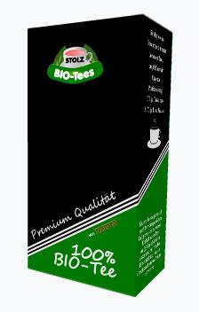 Stolz BIO-Tee, Mein blumiger Jasmintee BIO, 50g Box