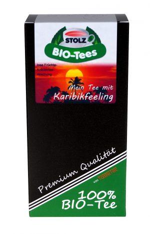 Stolz BIO-Tee, Mein Tee mit Karibikfeeling BIO, 50g Box