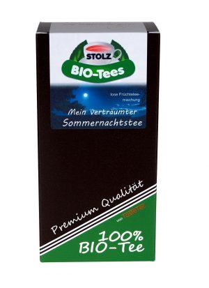Stolz BIO-Tee, Mein verträumter Sommernachtstee BIO, 50g Box