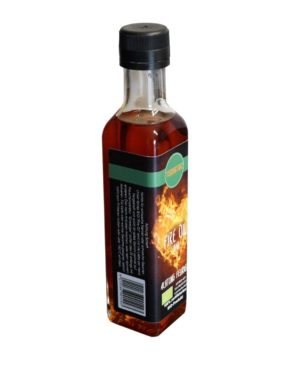 TasteTec Fire Oil BIO, 250ml Glasflasche – Scharf