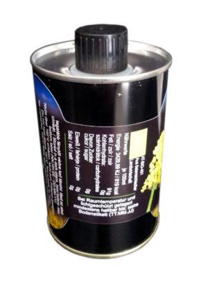 G4J Kaltgepresstes BIO-Rapsöl aus Oberösterreich, 250ml Dose mit Ausgießer